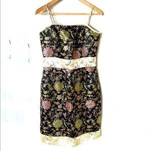 ABS Allen Schwartz Asian Design Style Dress